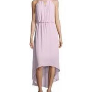 Lavender high low maxi dress